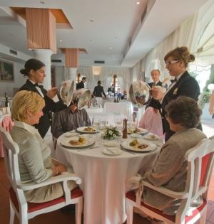 Imagen del restaurante de la Escuela de Hostelería La Cónsula de Málaga. Foto/ Europa Press