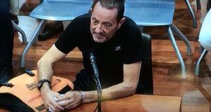 El exalcalde de Marbella Julián Muñoz cuando prestó declaración al comienzo del 'caso Fergocon', que se celebra en la Audiencia de Málaga. Foto/Europa Press