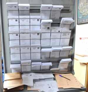 Imagen de las papeletas electorales Foto/ MARBELLA IMAGEN