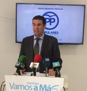 El concejal del PP Carlos Alcalá en una imagen de archivo