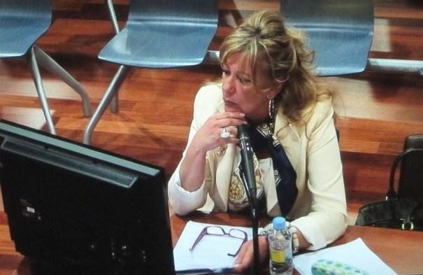 La exalcaldesa de Marbella Marisol Yagüe durante un juicio celebrado en Málaga en imagen de archivo. FOTO/EP