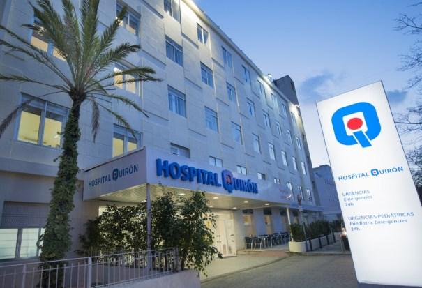 Imagen del Hospital Quirón de Marbella