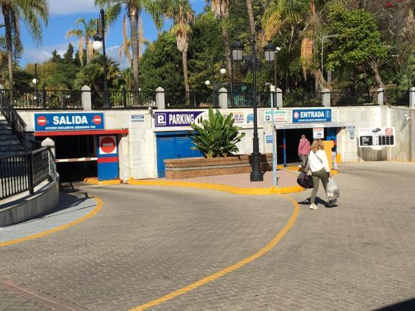Imagen del parking a día de hoy. Foto/ MC