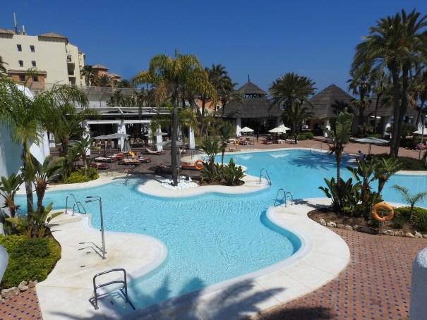 Imagen del club de playa del Hotel Don Carlos de Marbella. FOTO/ JAVIER MARTÍN