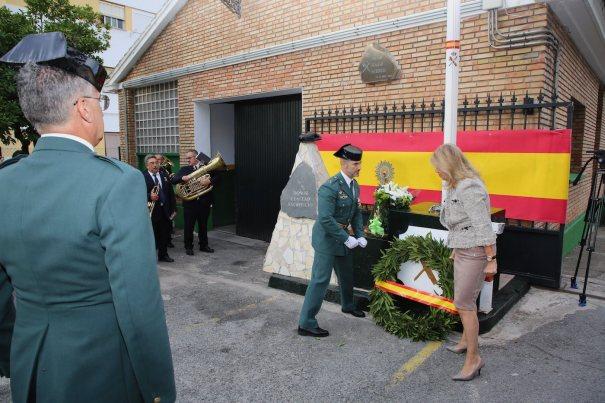 Imagen del acto celebrado este sábado en el cuartel de Leganitos. FOTO/ marbella.es