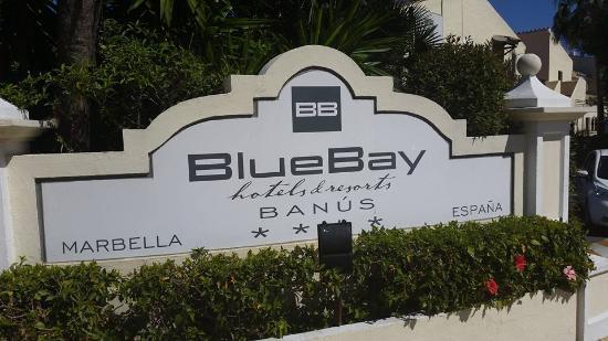 Entrada del Hotel Blue Bay Banús, uno de los elegidos. FOTO/ Blue Bay