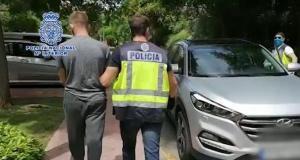 Imagen de uno de los detenidos por la Policía Nacional. FOTO/ CNP