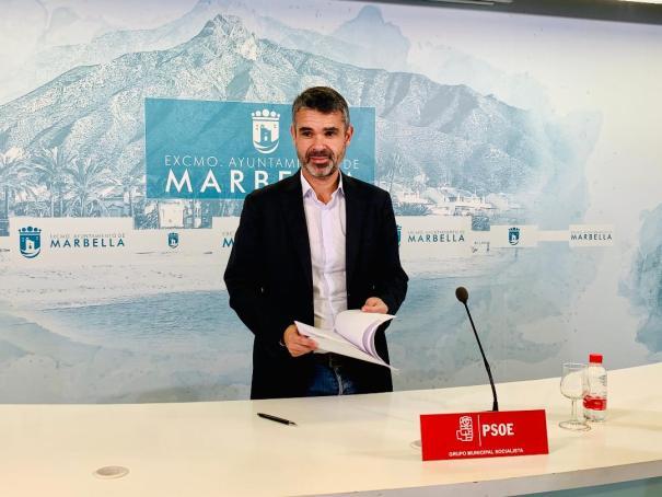 El portavoz municipal del PSOE, José Bernal, en una imagen de archivo. FOTO/ PSOE