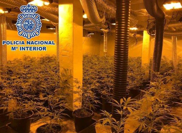 Imagen facilitada por la Policía Nacional este martes