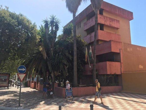 Imagen de la Comandancia de Marina de Marbella. FOTO/ EP