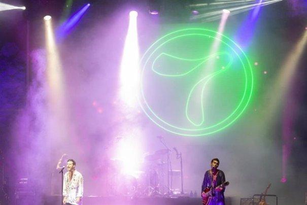Imagen del concierto de Taburete distribuida por Starlite