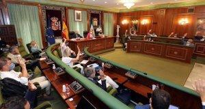 Imagen de la votación en el Pleno de Marbella este lunes. FOTO/ Ayto de Marbella