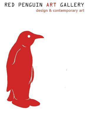 the red penguin art