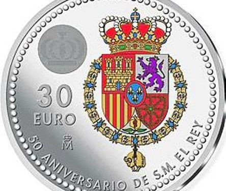Colourful coin to mark King's 50th birthday