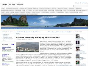 Costa del Sol Towns News August 2010