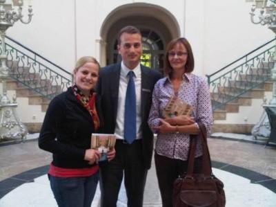 MU students at Hotel Villa Padierna, Marbella