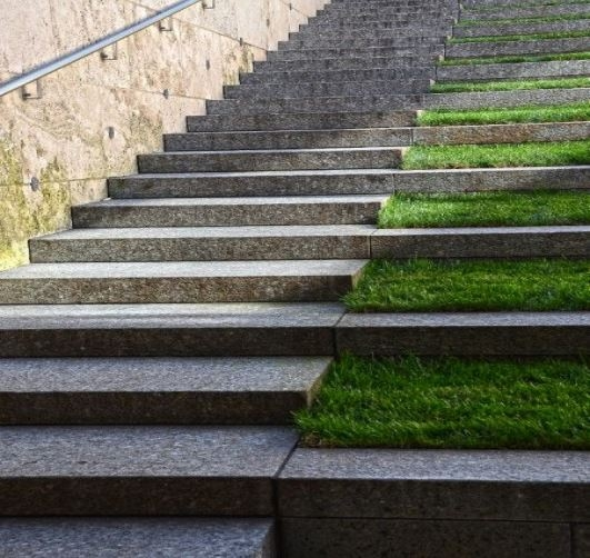 Diy Outdoor Interior Exterior Stairs Steps Design With | Granite Stone Steps Outdoor