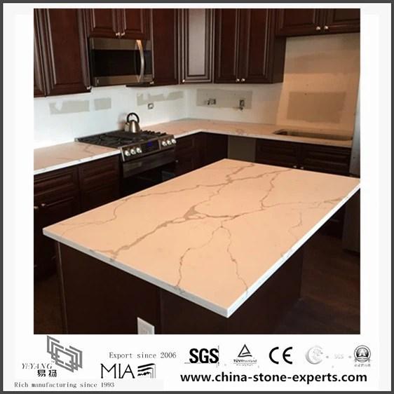 White Calacatta Engineered Quartz Stone