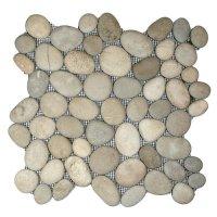 Asian Tan Pebble tile   Pebble tiles   Pebble mosaic ...