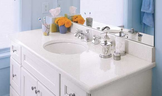 recycled glass kitchen countertops san diego remodel white quartz vanity bay area at marble city ...