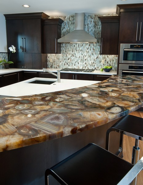 recycled glass kitchen countertops cabinets knoxville tn luxury semi precious bay area california ...