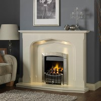 Lynford Marble Fireplace - Available in 54'' or 48 ...