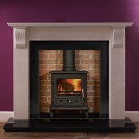 """Corbel Marble Fire Surround 54"""" 