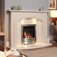 Marble Fireplace Mantel Surround | Liberino Marble Fireplace