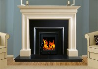 Wexford Marble Fireplace in Ivory Pearl | Marble ...