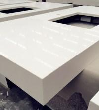 Pure White Quartz Vanity Tops China - www ...