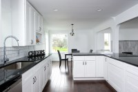 Pure Black Quartz Countertops | Pure Black Quartz Kitchen ...