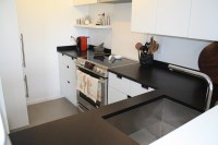 Honed Black Quartz Countertops | Honed Black Quartz ...