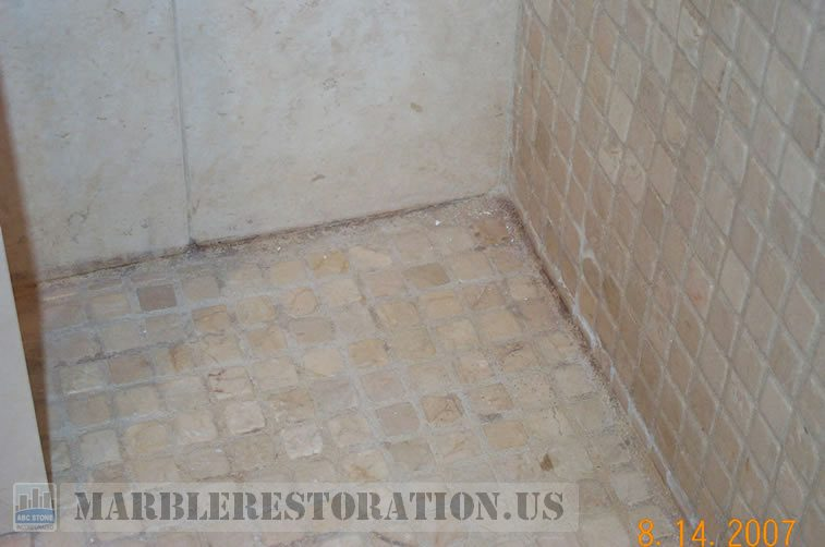 Mold on Shower Grout Removal