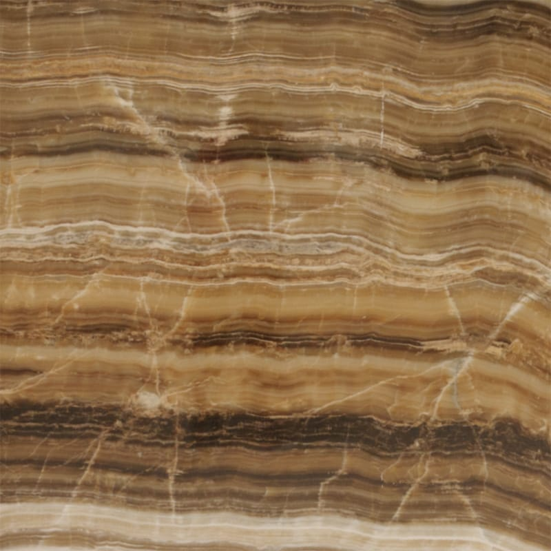 Caramel Onyx Vein Cut Polished Onyx Slab Random 34
