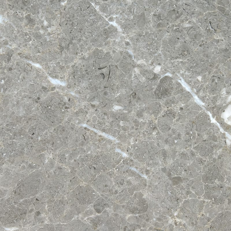 Silver Drop Polished Marble Tiles 12x12