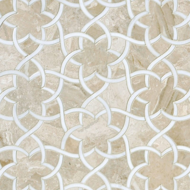rustic tiles kitchen qvc.com shopping diana royal, dolomite multi finish isidore marble waterjet ...