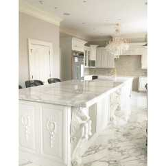 Soft Kitchen Flooring Options Corner Storage Calacatta Gold Polished Marble | Systems Inc.