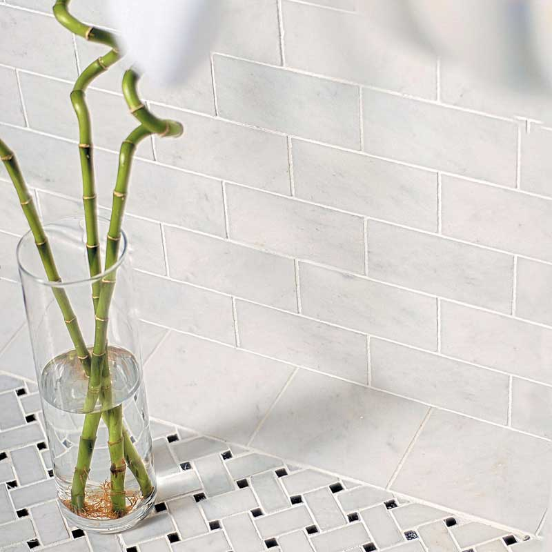 glacier honed marble tiles 5 1 2x5 1 2