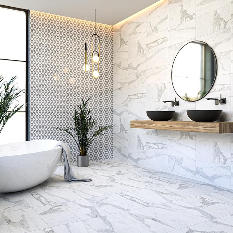 calacatta gold royal honed marble tiles 12x24