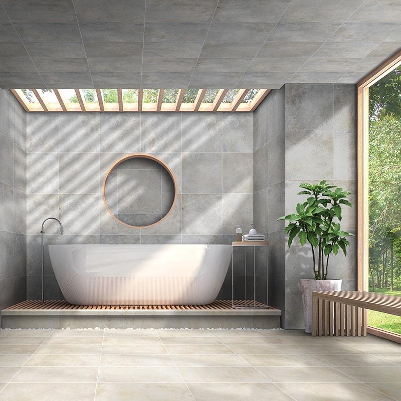sahara sand honed porcelain tiles 12x24