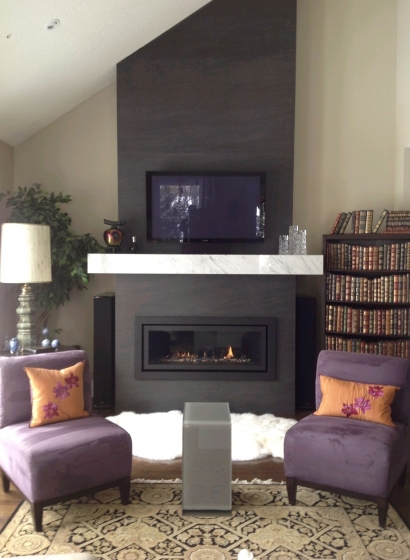 living room covers design ideas photos fireplace: neolith basalt black | marble trend ...