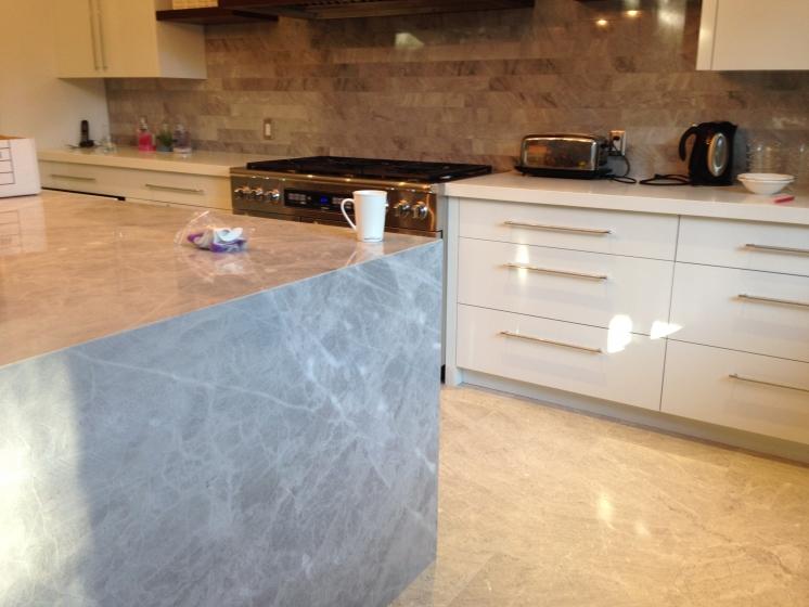 Kitchen Blue De Savoie  Marble Trend  Marble Granite