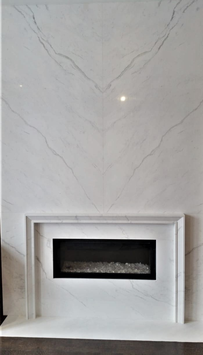 fireplace vienna white marble trend