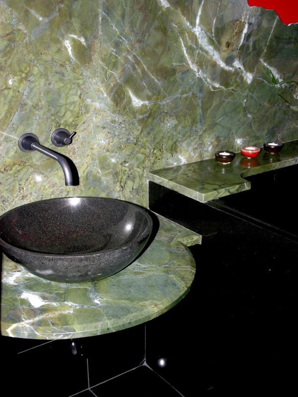 Dahill Vanity Top Original 3cm Green Peace Granite Polish