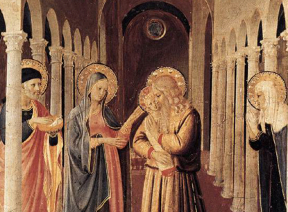 Fra Angelico's Presentation in the Temple