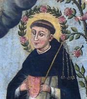 Manuscript illumination of Bl. Henry Suso