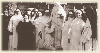 Dominican Nuns at Marbury in the early days