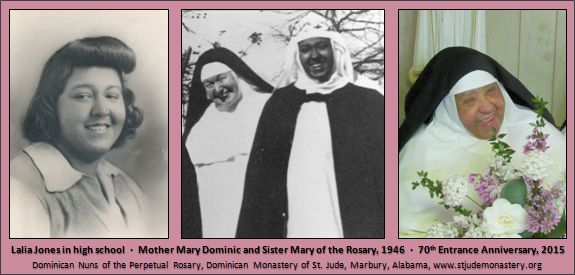 Photos of Sister Mary of the Rosary OP
