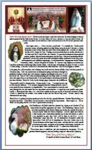 Image of Christmas Newsletter of Dominican Nuns