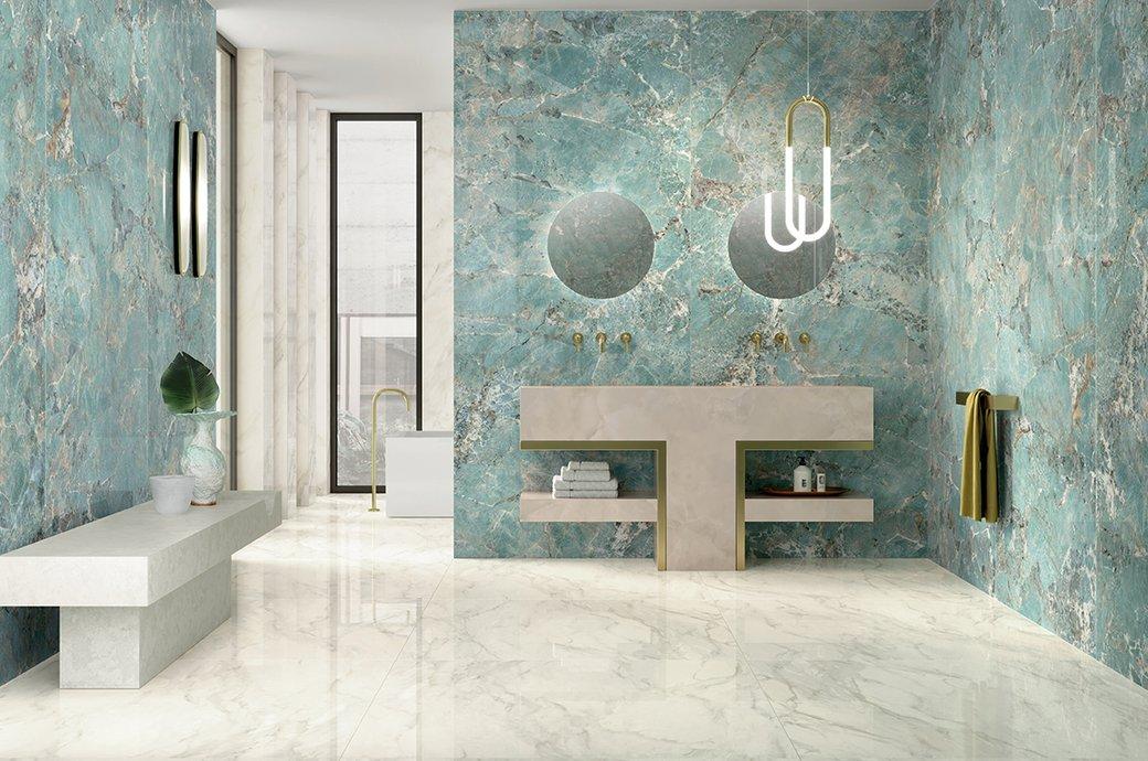 italian porcelain floor tiles and wall